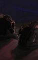 Wolf und Baer Chillen Sitzen auf Dach.jpg